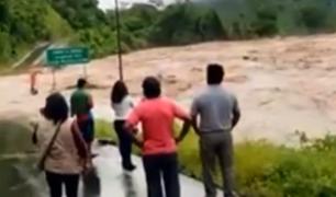 Madre de Dios: ríos se desbordan e inundan centros poblados
