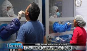 """""""Navidad Segura"""": EsSalud inicia campaña para evitar nuevos contagios de covid-19"""