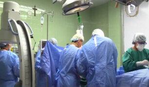 Instituto de Salud del Niño: realizan exitosa operación a la columna a un adolescente