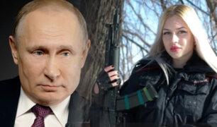 Rusia: Mujer soldado ganó un concurso de belleza y Putin la echó