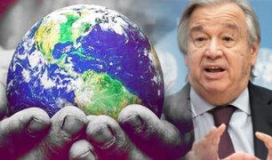 """ONU pide declarar """"estado de emergencia climática"""" en todo el mundo"""