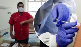 Venezuela: hijo de Nicolás Maduro recibió la primera dosis de la vacuna Sputnik V