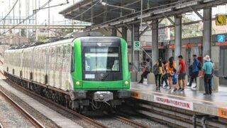 Metro de Lima duplica desde hoy el aforo de pasajeros
