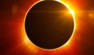 Eclipse solar: así se vio el último fenómeno astronómico del 2020