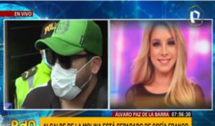 """Álvaro Paz de la Barra pidió """"respeto y consideración"""" tras accidente de Sofía Franco"""