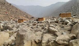 Chosica: pese al peligro pobladores invaden cauce de huaico y construyen viviendas