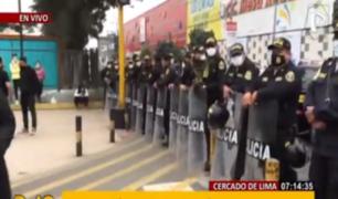 La Victoria: 600 policías intervinieron CC 'Las Malvinas'