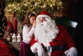 """""""Inmune al COVID-19"""": Papá Noel podrá repartir regalos esta navidad"""