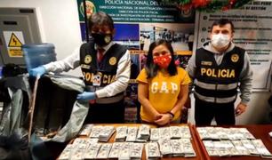 Aeropuerto Jorge Chávez: detienen a mujer con más de 642 mil dólares falsos