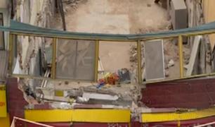 Breña: obra paralizada pone en riesgo la vida de los transeúntes de la zona