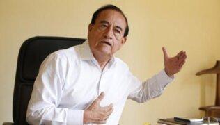 Áurero Zegarra anunció retiro de Todos por el Perú de las elecciones 2021