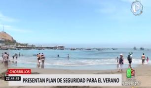 Chorrillos presenta Plan de Seguridad para el verano
