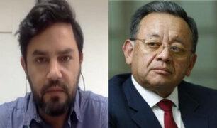 Daniel Olivares pide que Edgar Alarcón se aparte de la Comisión de Fiscalización