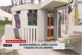 Magdalena del Mar: Denuncian que espacios de recreación en bajada Marbella están descuidados