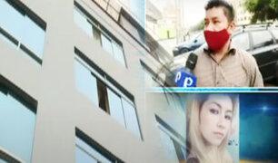 Habla el hermano de mujer que cayó de un sexto piso durante discusión con su expareja