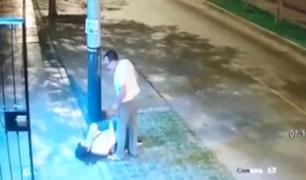 Surco: salvaje agresión captada en video destapa historia de violencia a las mujeres