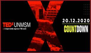 TEDxUNMSM: únete al CountDown y sé parte de las charlas e innovadores talleres desde casa