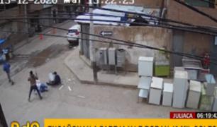 Juliaca: banda de delincuentes asalta a pareja y roba 40 mil soles