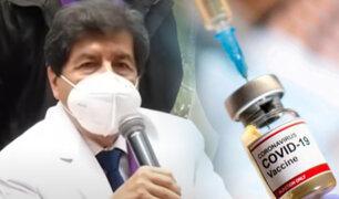 Colegio Médico del Perú espera un sinceramiento del Ejecutivo sobre el estado de las vacunas