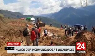 Amazonas: cerca de 3 mil pobladores quedaron aislados por huaico