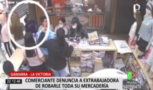 La Victoria: comerciante denuncia a extrabajadora de robarle toda su mercadería