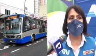 ATU aumentará aforo en buses del corredor azul y otros medios de transporte