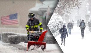 Poderosa tormenta invernal golpea la costa este de EEUU