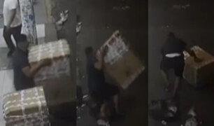 Centro de Lima: Roban más de 6 mil soles en mercadería a comerciante