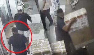 Comerciante sufre robo de su mercadería en el Centro de Lima