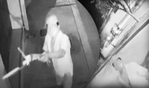 Tumbes: delincuentes son grabados mientras intentan robar una cámara de seguridad