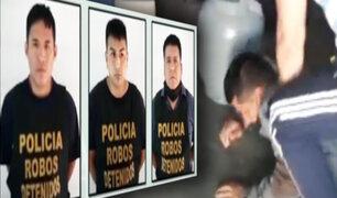 Ventanilla: capturan a banda en pleno robo de vivienda