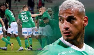 Miguel Trauco: Saint-Étienne ganó luego de 11 partidos