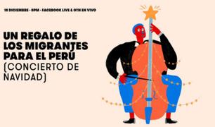 Concierto de navidad: un regalo de los migrantes para el Perú