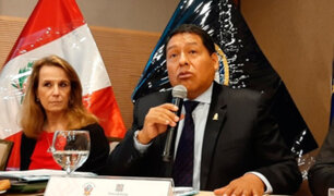 César Sahuanay: juez superior es elegido presidente provisional de la Corte Penal Nacional