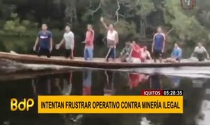 Disparan contra militares y funcionarios para evitar operativo contra minería ilegal