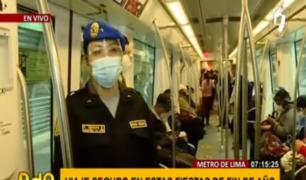 Metro de Lima: plan Navidad 2020 busca resguardar seguridad y salud de pasajeros en Línea 1