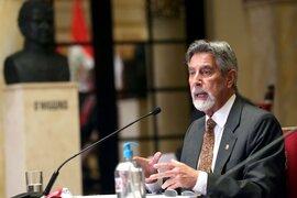 Francisco Sagasti: es posible que un lote importante de vacunas llegue el primer trimestre