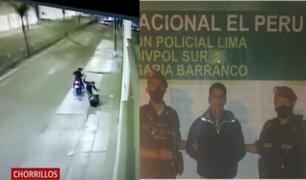 Capturan a delincuente implicado en violentos robos en Chorrillos