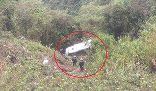 Tragedia en Ecuador: caída de ómnibus a abismo deja seis muertos y catorce heridos