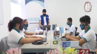 """""""Venezolanos en Línea"""": Inauguran Call Center para migrantes provenientes de ese país"""