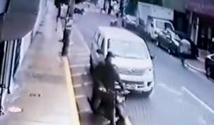 Surquillo: comerciantes exigen presencia policial frente a los constantes robos
