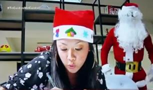 Deseos de navidad para papá Noel