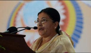 Nepal: Presidenta disuelve el Parlamento y convoca a elecciones generales