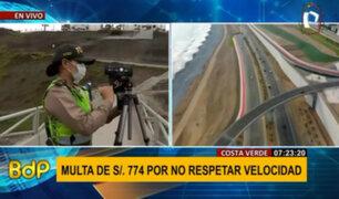 MML modifica límites de velocidad en la Costa Verde bajo riesgo de multa sin beneficios