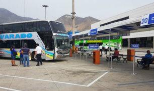 Suspenden viajes interprovinciales al norte y sur por protestas en la Panamericana