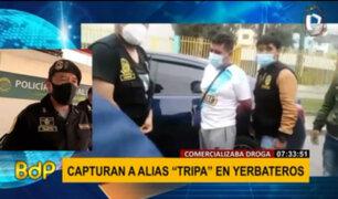 Grupo Terna captura a comercializador de droga en Yerbateros