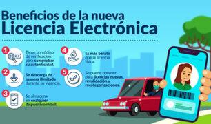 Atención conductores: MTC autoriza emisión de brevetes electrónicos