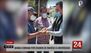 Piura: mafia cobraba hasta S/.20 mil por una vacante a la universidad