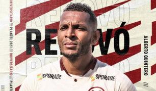 Universitario de Deportes: Alberto Quintero renovó contrato por dos temporadas más