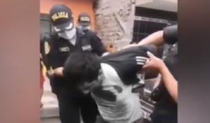 Independencia: sujeto que intentó secuestrar a niño registra más 25 denuncias en su contra